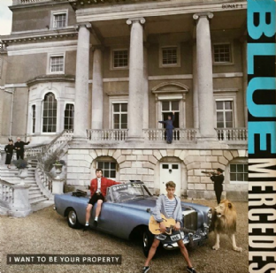 "Blue Mercedes ‎- I Want To Be Your Property (12"") (VG-/VG-)"